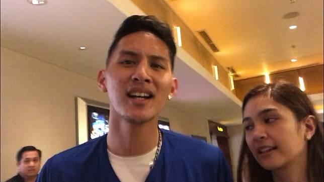 Daniel Wenas dan Mikha Tambayong saat ditemui Grid.ID di bioskop bilangan Kelapa Gading, Jakarta Utara pada Selasa (23/4/2019).