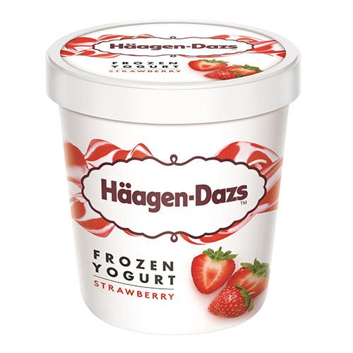 哈根達斯草莓優格冰淇淋