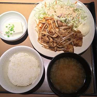 実際訪問したユーザーが直接撮影して投稿した西新宿定食屋やよい軒 新宿小滝橋通り店の写真