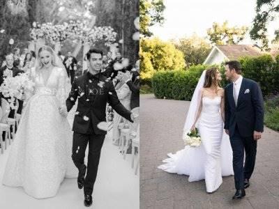 Intip Yuk Gaun Pengantin yang Dikenakan Selebriti Menikah Tahun Ini