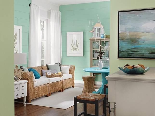 Kombinasi Warna Cat Rumah Hijau Tua  10 kombinasi dan perpaduan warna cat rumah yang bagus
