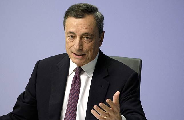 President Mario Draghi Photographer: Alex Kraus/Bloomberg