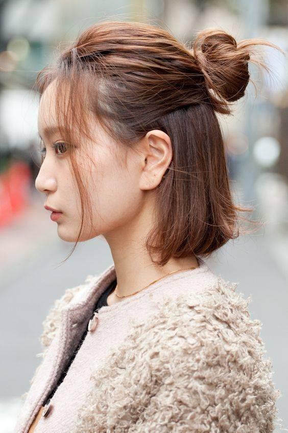 8 Cara Mengikat Rambut Ala Korea Yang Praktis Dan Mudah Womantalk Com Line Today