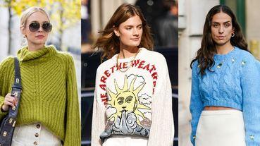 「毛衣」穿搭Do & Don't!10種懶人癌患者也適用的「針織衫」不臃腫穿搭推薦
