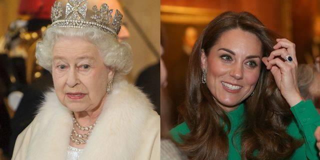 Kate Middleton Memakai Anting Ratu Elizabeth