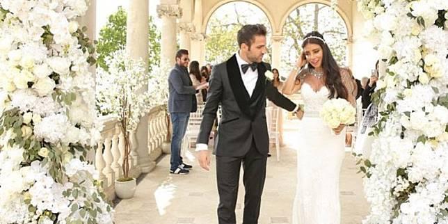 Sederet Potret Pernikahan Cesc Fabregas