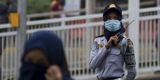 Polusi udara di Ibu Kota. ©2019 Merdeka.com/Imam Buhori