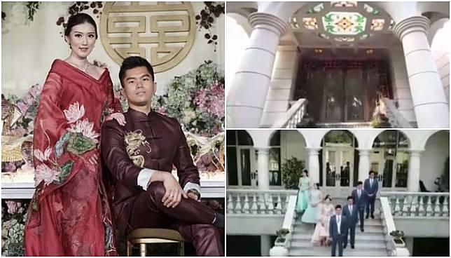 Megahnya Rumah Jusup Maruta Cahyadi, Sang Crazy Rich Surabayan, Bak Istana Negeri Dongeng