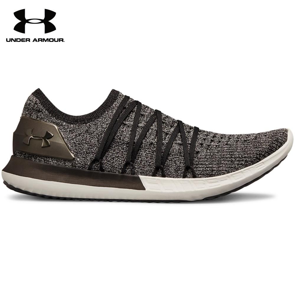 """【科技介紹】.別緻的UA SpeedForm構造,貼合腳麵,有助減少穿著不適感.針織鞋面緊致貼合、通風透氣,有助提升動作的靈活度.融合Charged Cushioning與輕質EVA發泡材料的中底設計,具有良好的避震度與反彈力【商品細節】.襪子般的""""burrito tongue""""鞋舌構造包緊雙腳,舒適合腳,有助使行動靈活自如.鞋舌與鞋頭部位的鏤孔設計有助提升透氣度.橫拉式可調節繫帶設計以及外跟部位的支撐墊有助增強貼合度.鞋底的TPU墊片有助縮減足趾離地時間.半透明外底處的高耐磨橡膠有助提升耐用度與牽引力.平衡設計:兼顧跑者對靈活性與緩震性的需求.掌跟差:約6毫米【適合運動】.適合跑步等運動"""