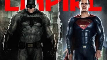 雜誌獨家曝光《蝙蝠俠對超人》最新照片 網友狂吐槽:中年英雄對決?
