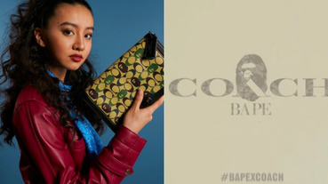 官方高清圖曝光!COACH x BAPE 找來「木村光希」搶先公開聯名商品:那件滿版外套會漲翻吧?