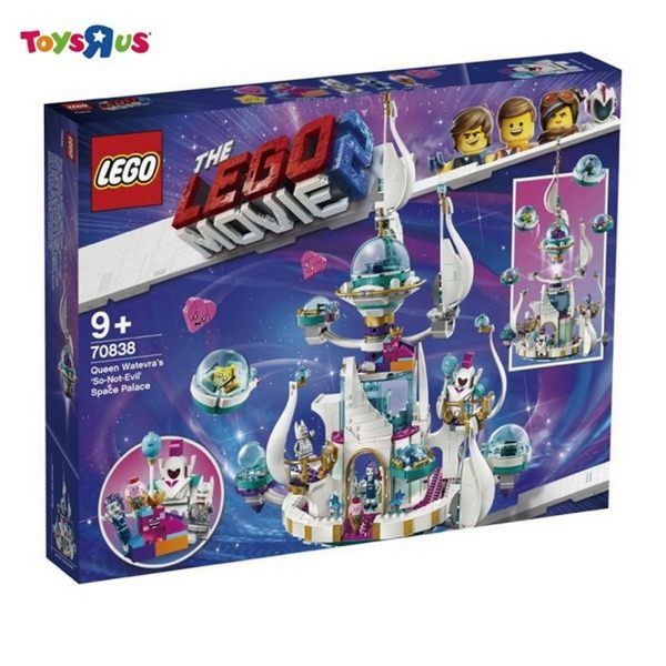 LEGO樂高 樂高玩電影2 70838 Queen Watevra's 'So-Not-Evil' Space Pala 積木 玩具