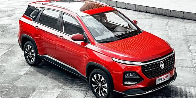 Baojun 530/ Wuling Almaz facelift China (Autohome.com.cn)
