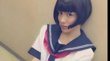 哪來的清純美少女?竟是辦女裝成癖的「日本男星」