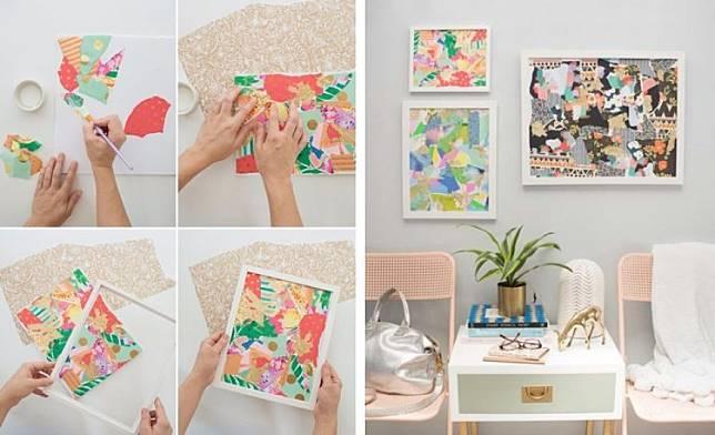 5 Cara Membuat Hiasan Dinding Sederhana Dekorasi Personal Yang Hemat Biaya Dekoruma Com Line Today