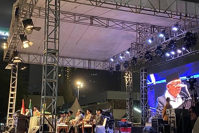 Ma'ruf Amin hadiri HUT ke-66 IPNU di GOR Soemantri Brodjonegoro