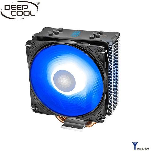 電腦散熱~指定品牌~九洲風神DEEPCOOL 九洲風神 玄冰GT_V2 RGB CPU散熱器 來了!※玄冰GT_V2是著名的玄冰GTE系列的新型號,全新升級的PWM和RGB風扇以及新的安裝扣具,讓玄冰