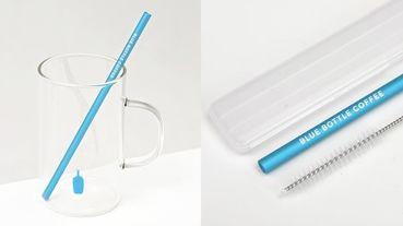 韓國藍瓶咖啡慶祝一週年!推出透明質感馬克杯、沁藍環保吸管,完美展現品牌的簡約美感