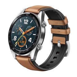 Huawei Watch GT 智慧手錶(馬鞍棕皮膠錶帶)