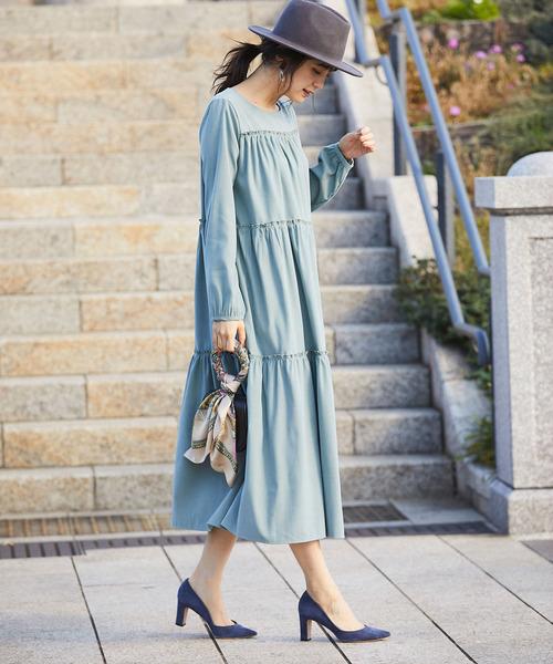 薄荷藍連身裙