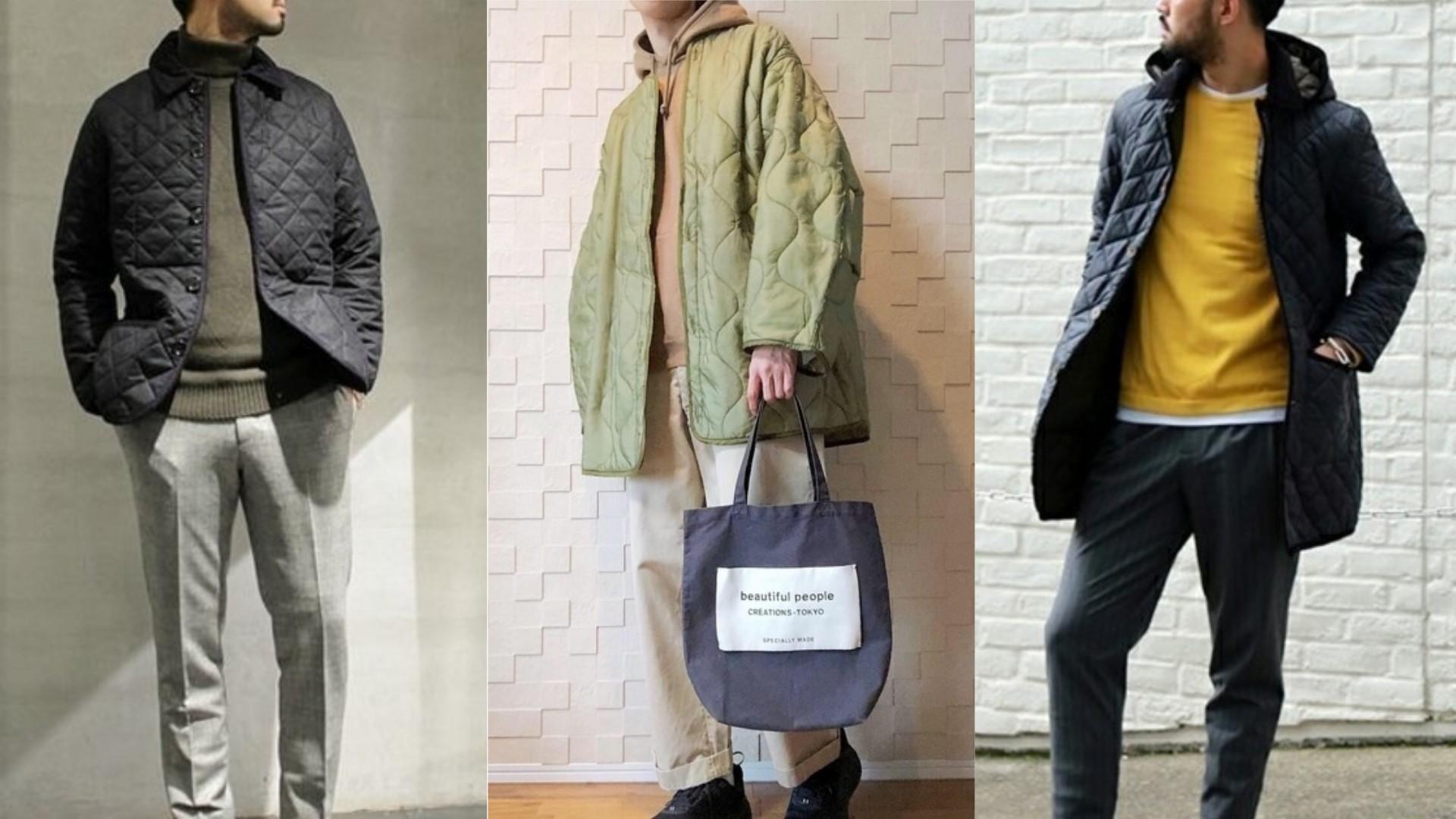 面對暖冬這件就夠!用「絎縫外套」輕鬆打造出男子的時髦印象