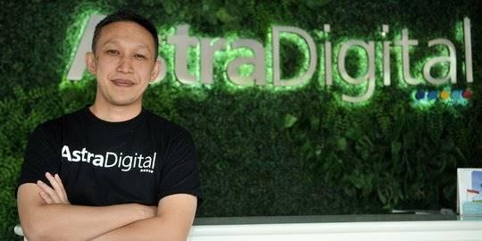 Direktur Astra Digital Kemas Henry Kurniawan. ©2019 Merdeka.com/Iqbal Nugroho