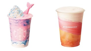 直接美哭!星巴克推出史上最夢幻的「魔幻美人魚星冰樂」,讓人少女心大噴發的新品「這天」開賣!