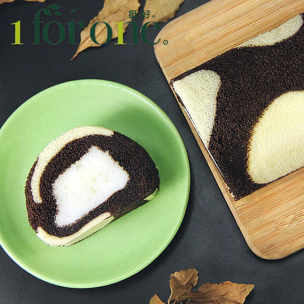 《1 for one》巧克力鮮奶凍捲(420g/條)(共3條)