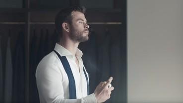 「雷神索爾」克里斯漢斯沃代言 HUGO BOSS,代言男香廣告再被重溫!