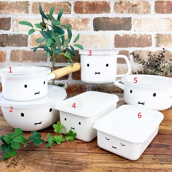 米飛兔琺瑯食器