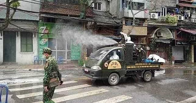 越南超強防疫!1人染疫全面封街消毒 確診數僅台灣一半