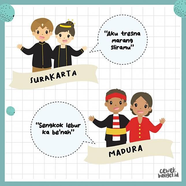 Cara Bilang Aku Cinta Kamu Dalam Berbagai Bahasa Daerah Di Indonesia Cewekbanget Id Line Today