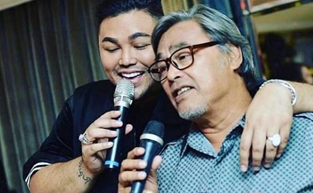 Ivan Gunawan bersama mendiang sang ayah. (Foto: Instagram)