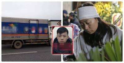 Vụ xe tải lao vô đoàn người: Vợ tài xế khóc lả đến xin lỗi từng nạn nhân, đời rơi bi kịch