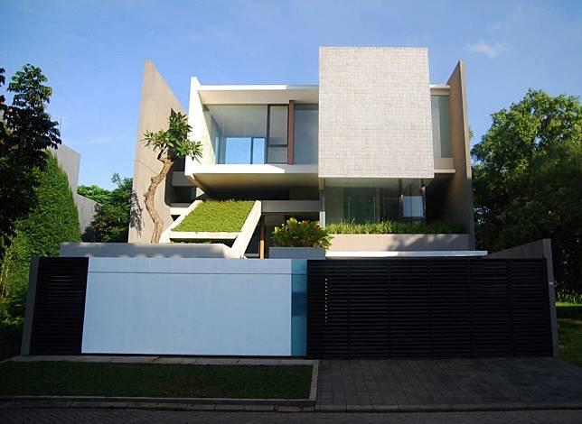 Tan Residence, Perumahan Jakarta Yang di Penuhi Design Menarik