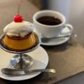 焦がしカラメル濃厚プリン - 実際訪問したユーザーが直接撮影して投稿した浅草カフェフェブズ コーヒー&スコーンの写真のメニュー情報