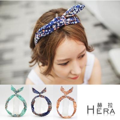 【Hera】赫拉 碎花兔耳朵髮箍/髮帶(三色)今年日韓都流行的碎花發箍!!內含鐵絲可隨意彎曲成自己喜歡的型一物多用!打造不同的風格噢~ 非常小清新的一款小淑女氣息十足