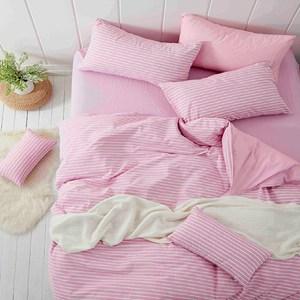 100%精心挑選棉花提取纖維 水洗工藝不易縮水 棉麻般舒適親膚 日式簡約色織美學