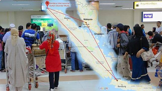 Heboh Harga Tiket Pesawat Domestik Mahal, Warga Aceh Bikin Paspor untuk Pergi ke Jakarta!