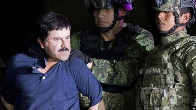 Raja narkoba Meksiko Joaquin 'El Chapo' Guzman. (AP/via VOA Indonesia)