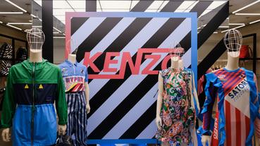 起點現場 KENZO 以條紋和剪裁揮灑 2018 春夏視覺新意