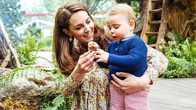Kate Middleton dan Pangeran Louis