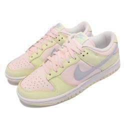 Nike 休閒鞋 Dunk Low 經典款 運動 女鞋 Lime Ice 舒適 皮革 球鞋穿搭 粉 淺綠 DD1503-600 [ACS 跨運動]