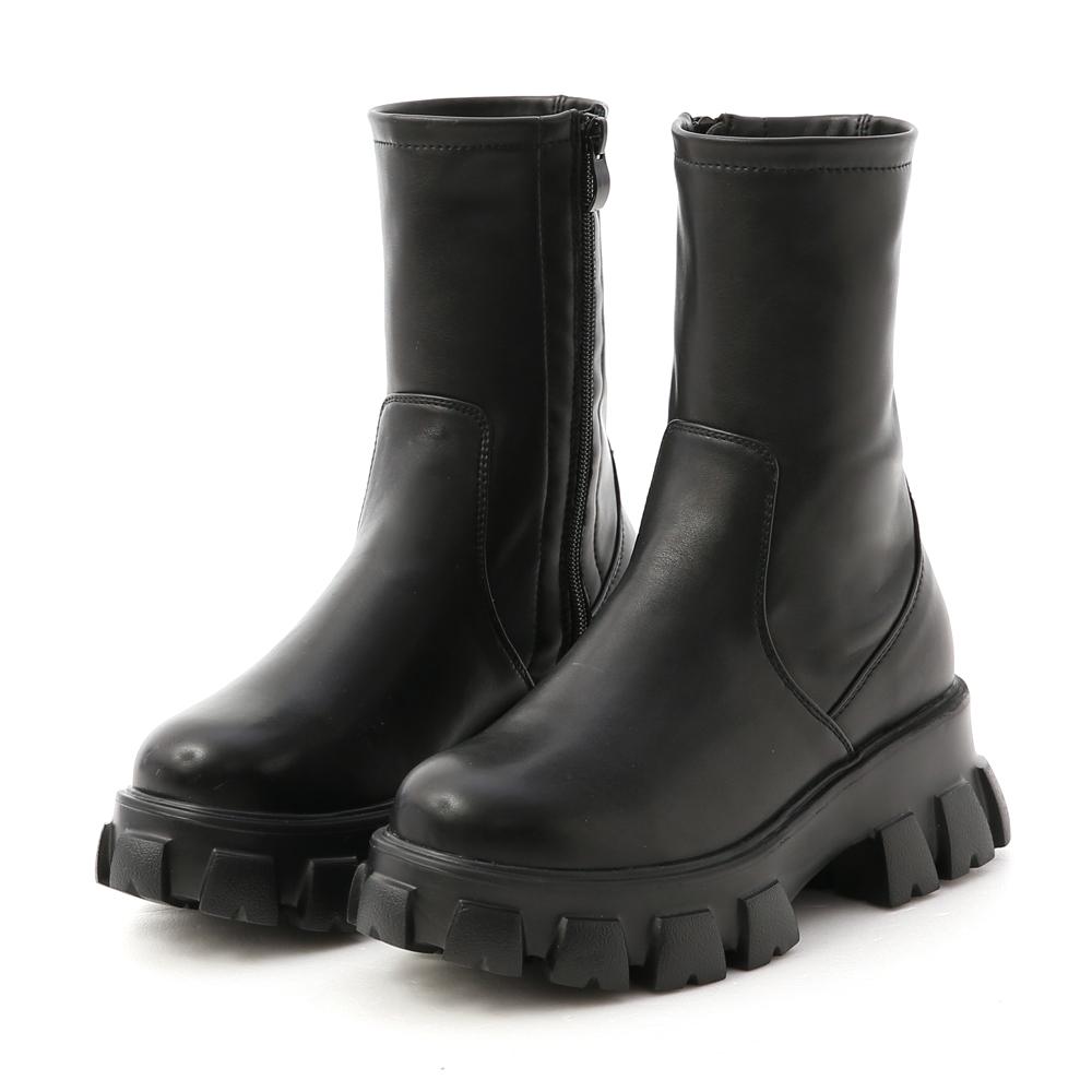 D+AF超輕量素面鋸齒靴 鋸齒靴
