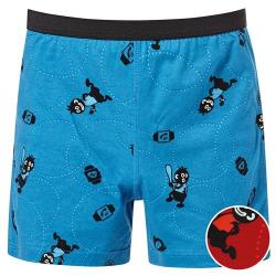 DADADO-小黑人 110-130 男童內褲(紅)
