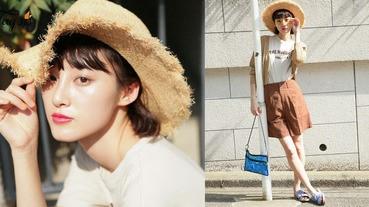 時尚單品新面孔!今個夏日就要戴上「大草帽」,與陽光玩遊戲帶上它吧〜