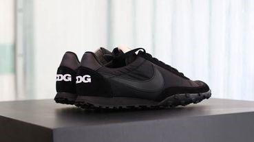 BLACK COMME des GARÇONS聯乘Nike全黑Waffle Racer登場