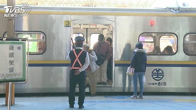 示意圖,非本文當事列車。圖/TVBS