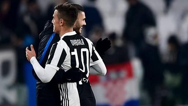 Striker Inter Milan, Mauro Icardi dan Striker Juventus, Paulo Dybala.