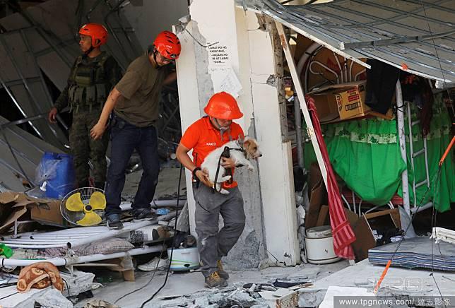 地震後的救援